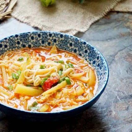 9种汤面做法,夜宵来碗面吧!