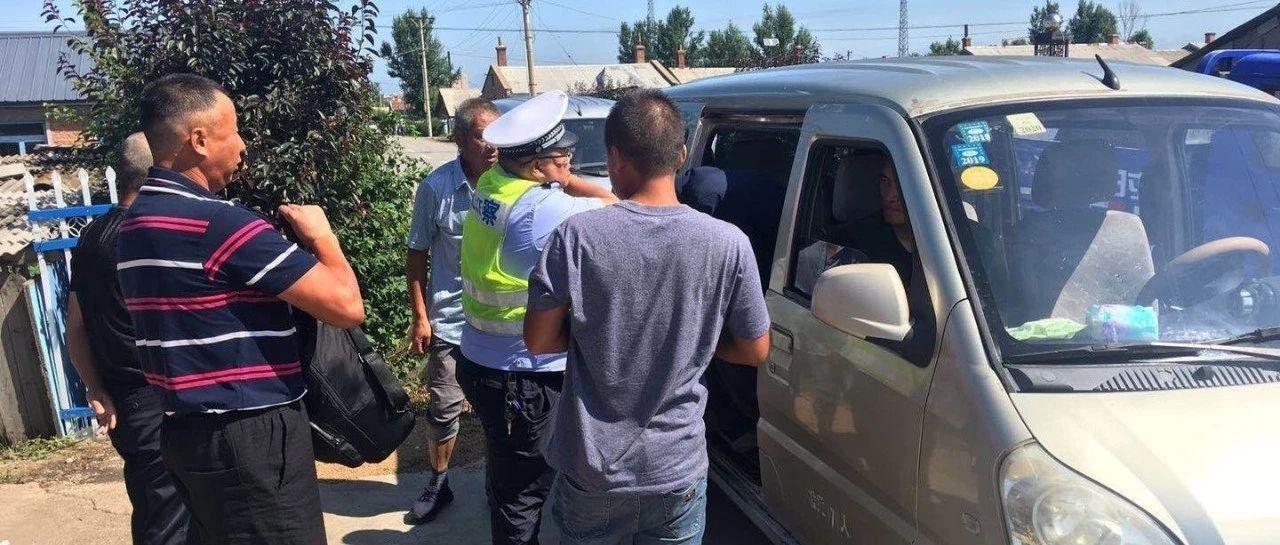 �F力市公安局交警大�加��面包�交通�`法行�檎�治。