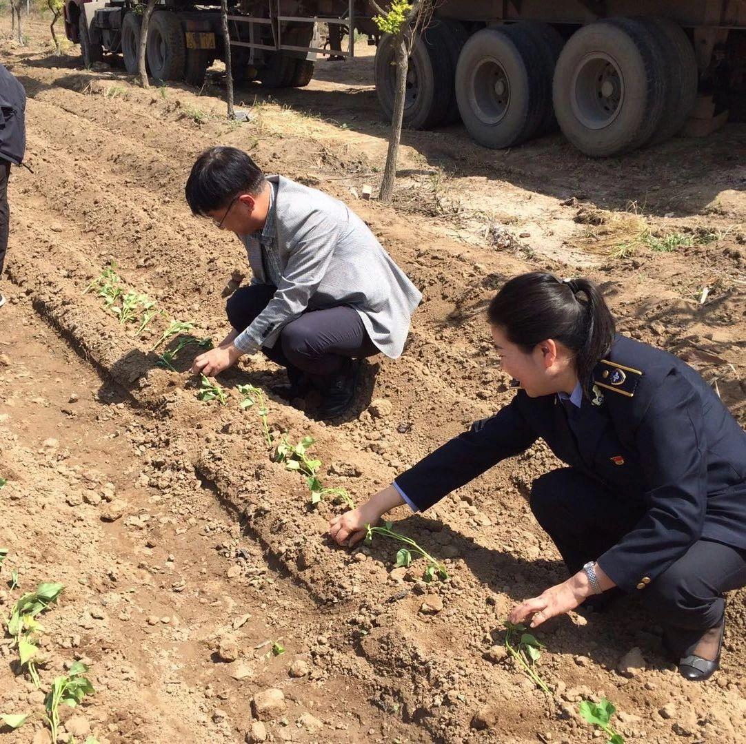 范九利参加市国资委在振华威村扶贫活动并履行河长职责、督导人居环境治理等工作
