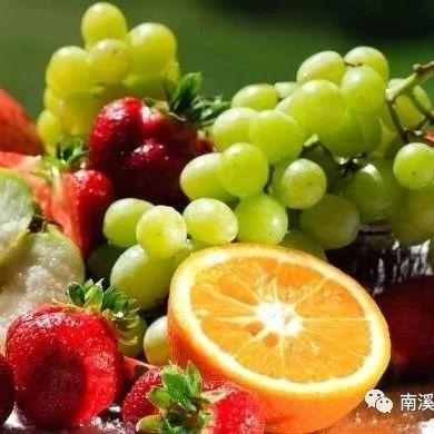 秋天最好吃的水果,照着这张图挑就行