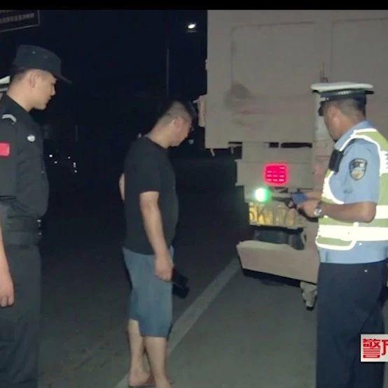 莱阳交警已查处违法大货车一百二十余辆。。