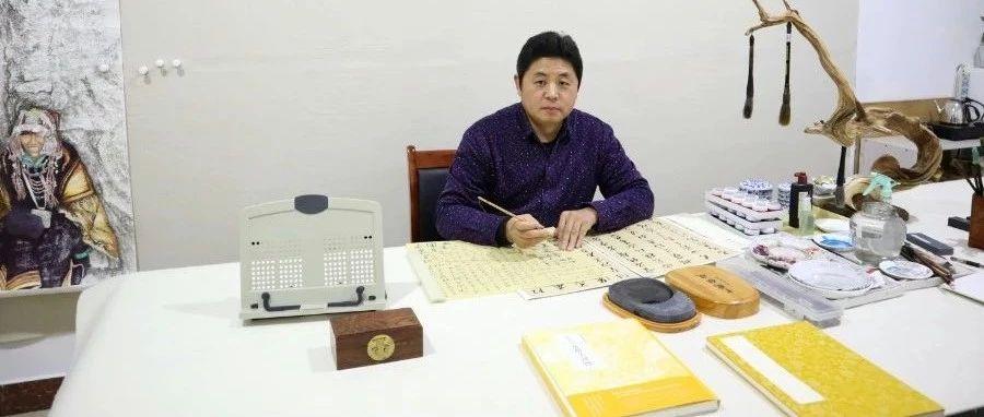 莱阳青年实力派画家--梁吉章笔墨丹青艺术