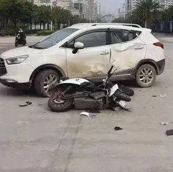 就在江西!5个电动车事故现场曝光!别再这样骑车了…