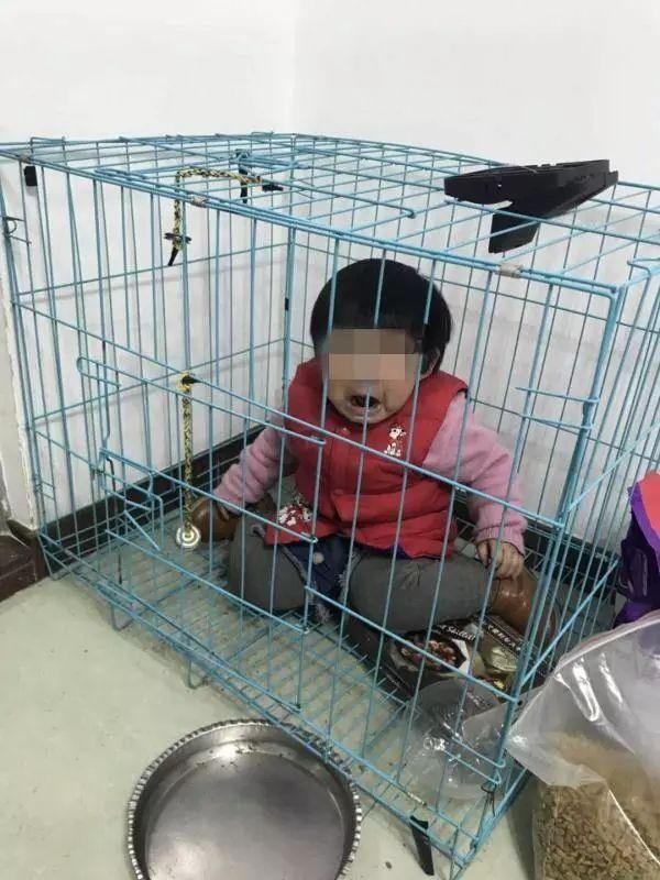 女童被关笼中疑遭虐待,其父称是摆拍!调查结果来了!