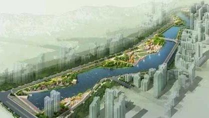 又多一处城市美景!巴城首个人工湖建成这样了……