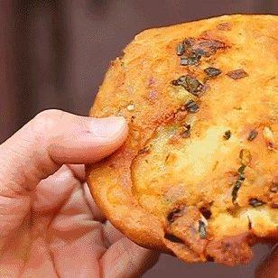 值得收藏|葱油饼这一种做法,不用和面,10分钟就能吃上香喷喷的早餐