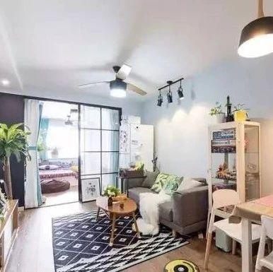 【家居】76�O清新北�W�L,木�|地板,�\灰色�γ妫��p松�S性的家!