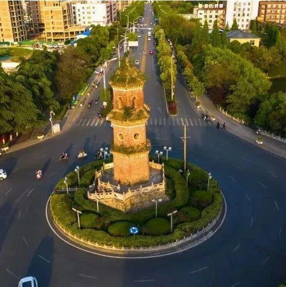 总投资43万!阜阳城市地标――三蓬塔正在维修,预计9月修建完成!