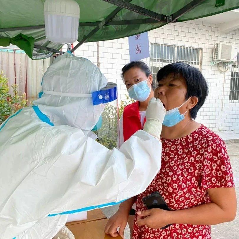 直击!新郑市第二轮核酸检测现场