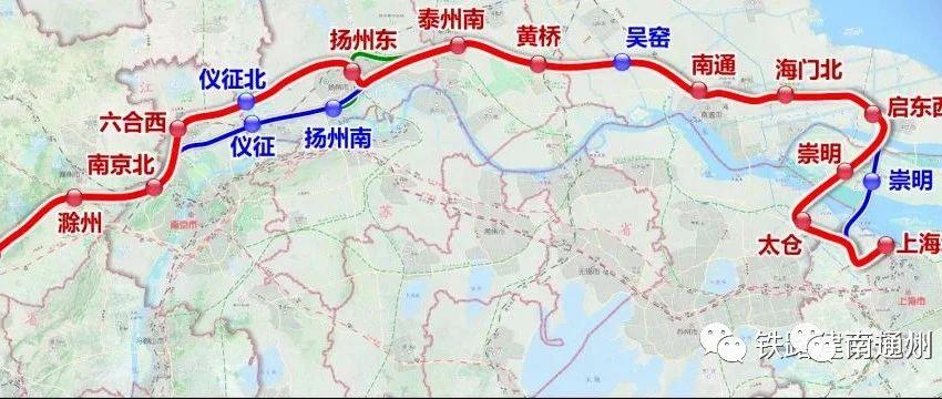 最新消息!北沿江高铁开工时间明确了!