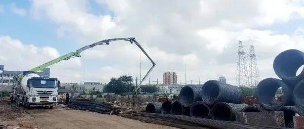 【关注】古沙小学建设加速推进明年秋季学期投入使用