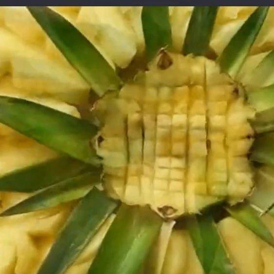 来客人这样切菠萝,客人见过都夸好,学会让你赚足了面子