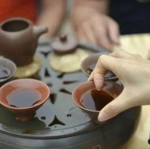 茶因不惜而��,人因不惜而散