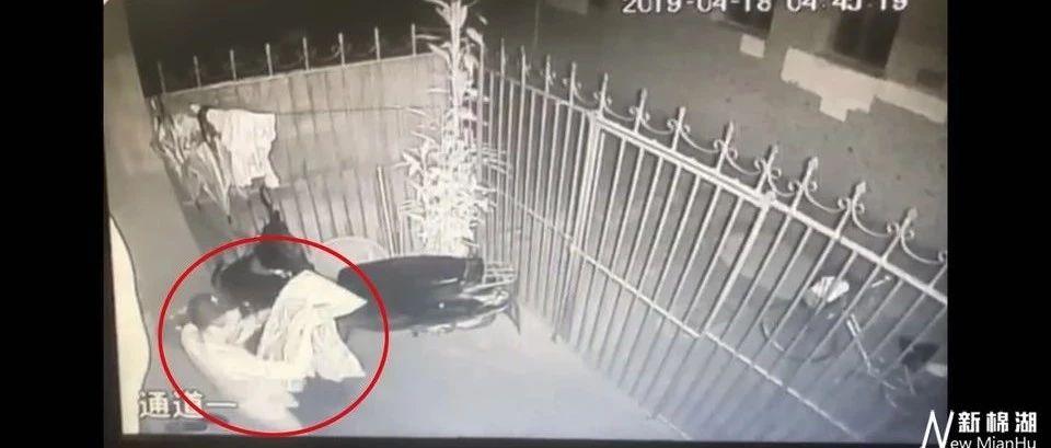 棉湖一男子凌晨翻越铁门,竟然是为了窃取。。。。。。