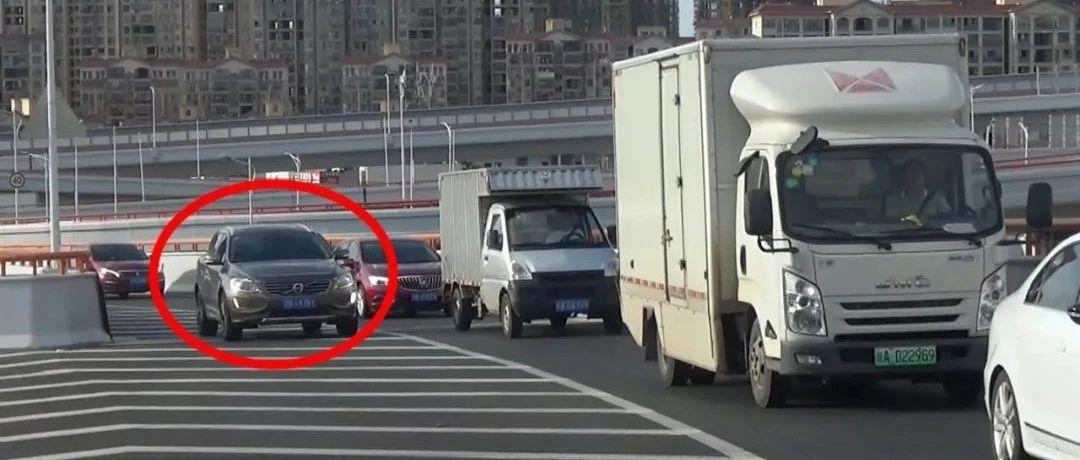 赣州高架路已经开始抓拍,你的这些行为都将罚款!