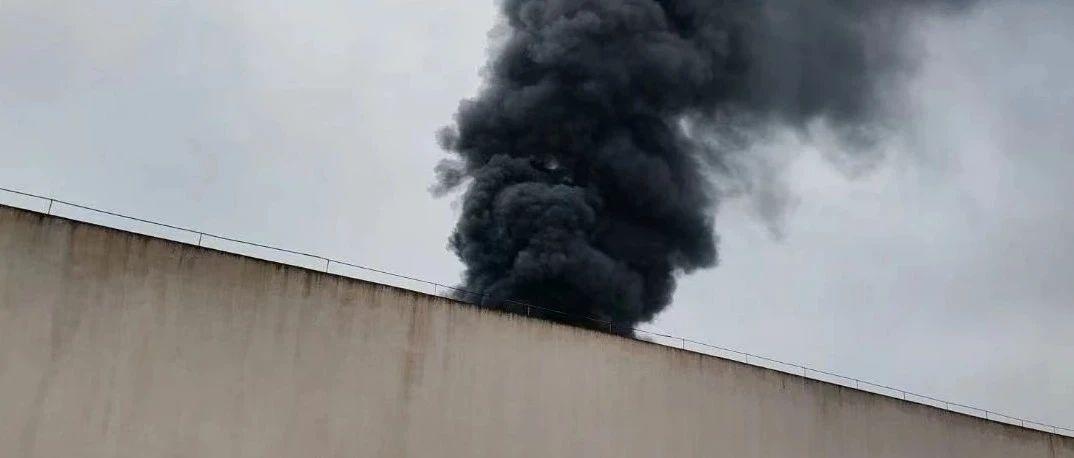 丽水一厂房突发大火!现场浓烟滚滚