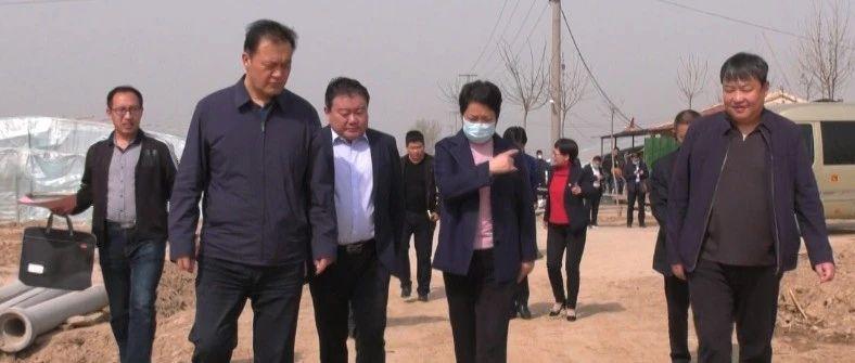 副市长刘美华、王秀凤来我县开展巡河调研活动