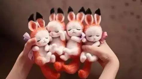 栩栩如生的羊毛毡小动物,自己动手制作几个,简直萌炸了!