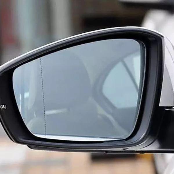 汽车后视镜外侧有条线是干啥的?
