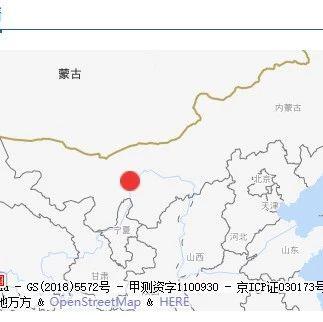 巴�┠��市磴口�h�l生3.1�地震