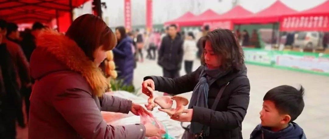 【围观】美高梅官网县首届年货节隆重开幕,16个乡镇的特色农产品全都在这里!