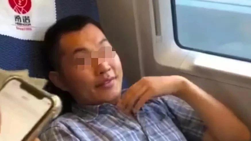 """大快人心!高铁""""霸座男""""上黑名单,限乘所有火车席别"""