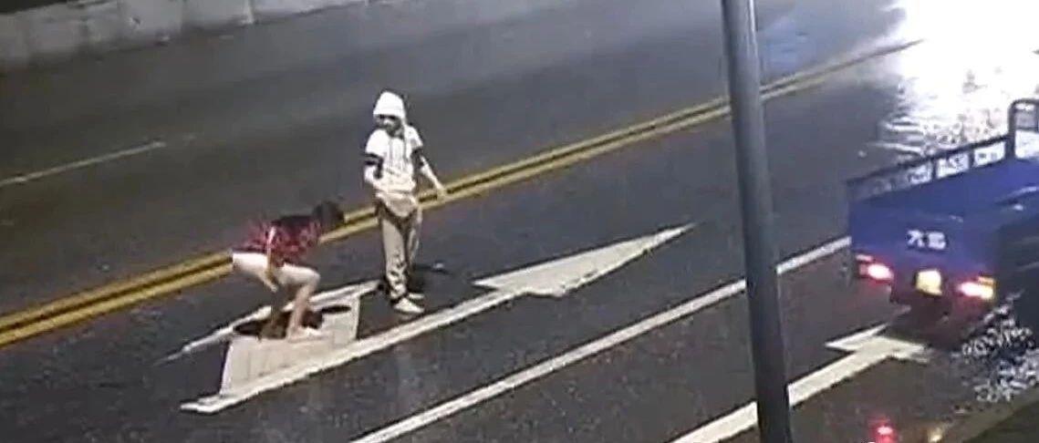 情侣路中央吵架,女生瞬间被撞身亡...20秒视频触目惊心!