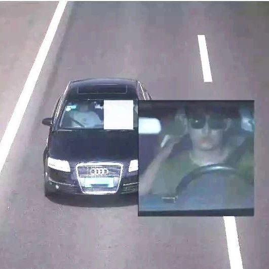 驾驶员超速后对监控敬礼,恭喜你:成功引起交警注意