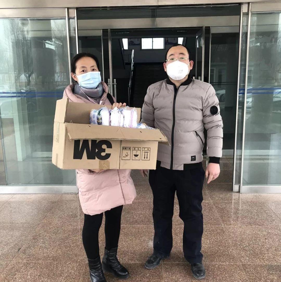 【赞】广饶爱心人士向一线环卫工人捐赠口罩!