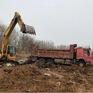 广饶孙子文化旅游区开展周边环境垃圾整治工作!
