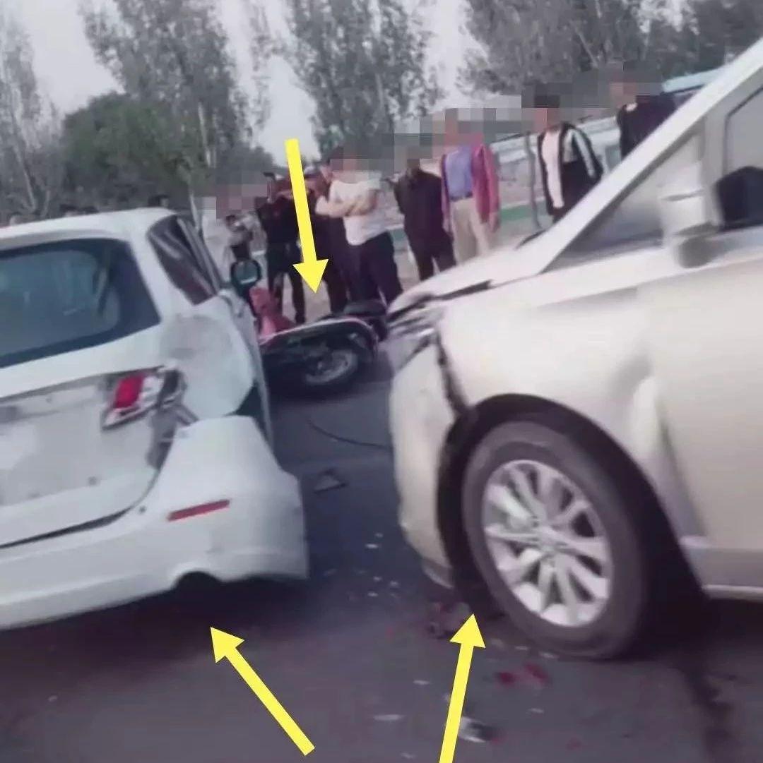 【城事】惊险!白城突发两起车祸事故,车辆横倒在路面,现场满地碎片...