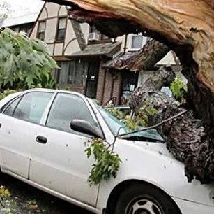 【城事】飞来横祸!白城一小区发生墙皮脱落,楼下车辆不幸被砸,到底谁的责任?