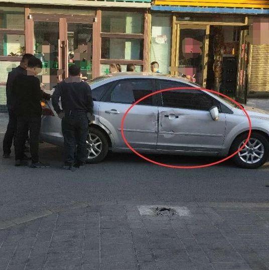 【城事】白城人快来看,停车后的乌龙碰撞,又摊事啦!