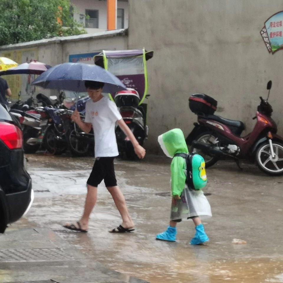 暴雨,大冶因你更显温情!