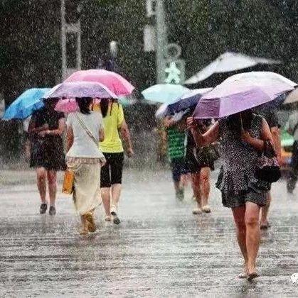 市气象局发布暴雨蓝色预警信号,两处重点预防地质灾害隐患点要注意!