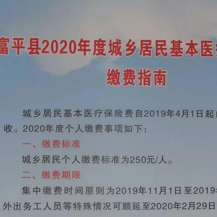 富平�h2020年度城�l居民基本�t��保�U�M�U�M指南