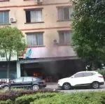 突发!夹江进站路口一居民家中发生火灾!