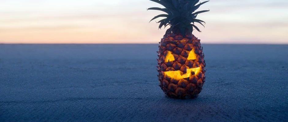 你吃菠萝的时候,菠萝也在吃你