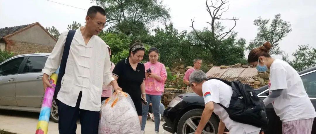 莱阳聚焦:爱心义工队下乡送温暖