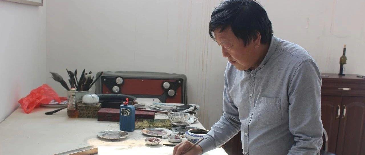 莱阳画家周殿平中国画新作欣赏