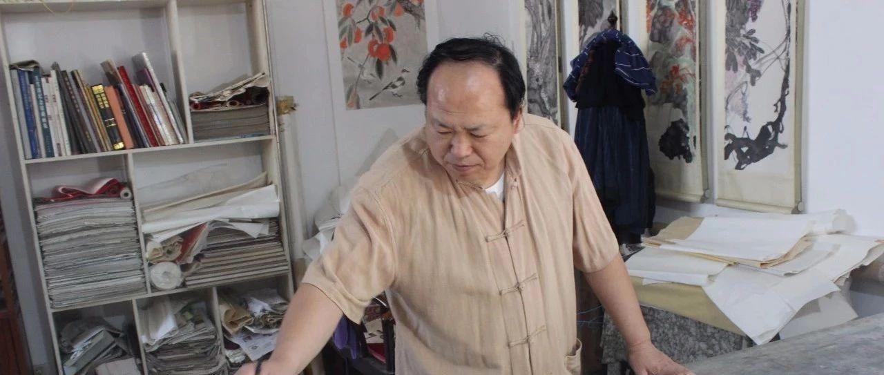 莱阳画家吕学春-------心灵描绘出诗情笔墨无声胜有声