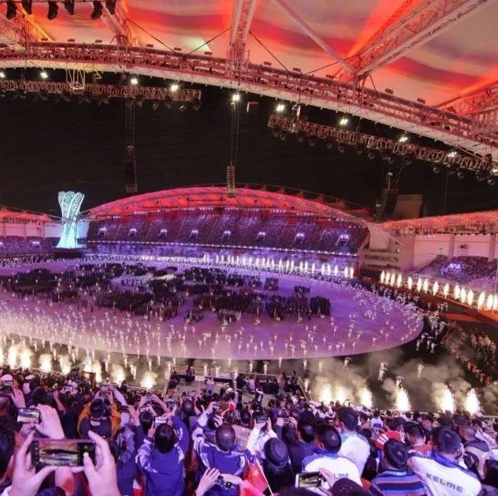 燃!昨夜属于武汉!军运会开幕!这一幕,震撼世界!