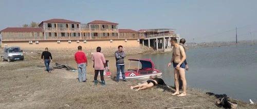 阜南纪检工作人员在四里湖勇救落水者