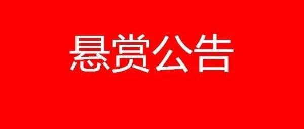 濮阳发生肇事逃逸案,警方发布悬赏通告!