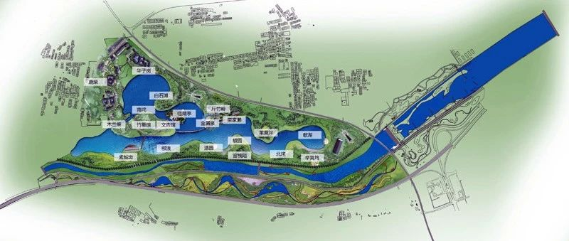 辋川最新规划视频出炉,拟投资100亿建王维诗画小镇!