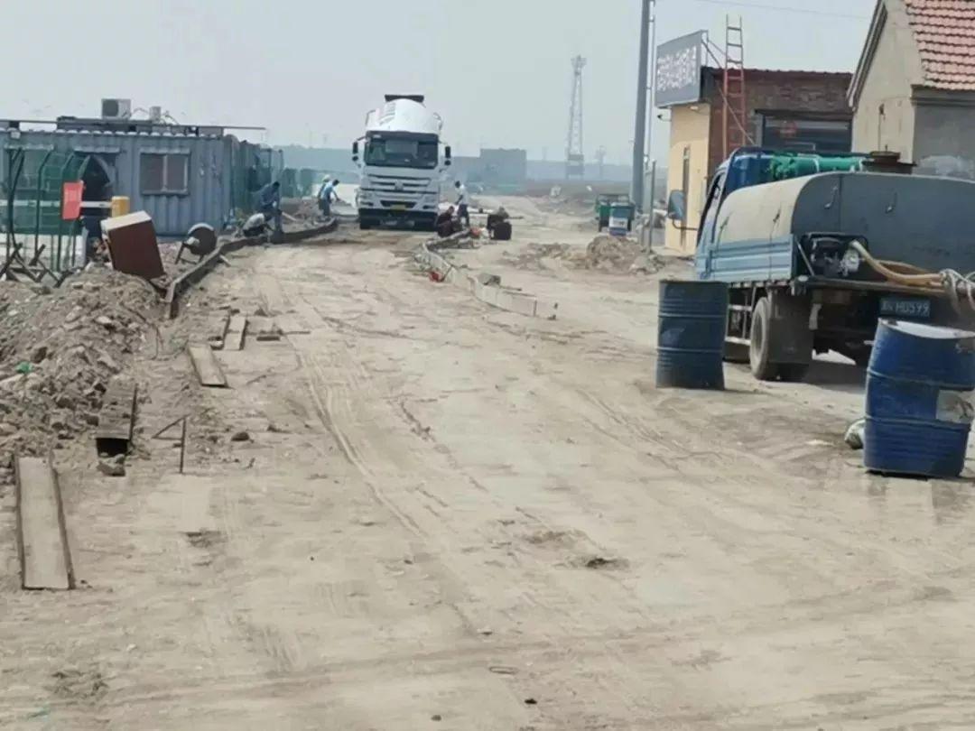 轻纺大道和海景大道路口施工被环保通报