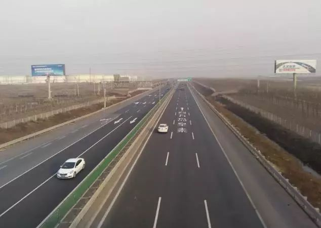 海滨高速升级为秦滨高速,路牌已换