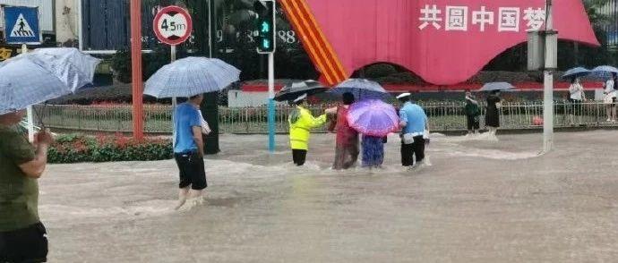 暴雨+雷电大风!宜宾城区多处积水、收费站关闭、公交受影响...最大降雨量在这里!