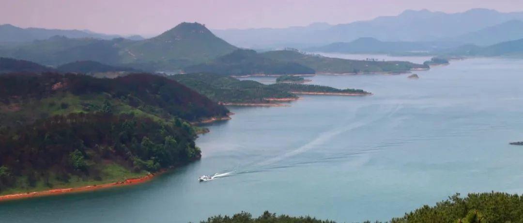 烟波浩瀚,船歌飞扬,麻城最美水域当真是人间绝色