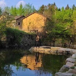 【在新县】百年紫藤今犹在,白云生处有乡愁